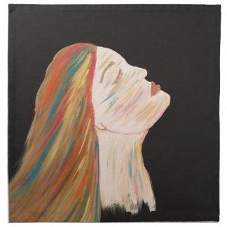 Multi-color Woman Napkin