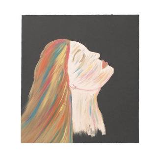 Multi-color Woman Notepad
