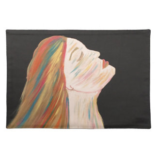 Multi-color Woman Placemat