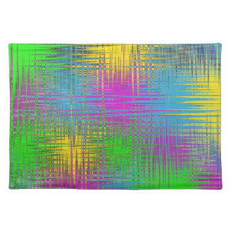 Multi-Colored Abstract Modern Place Mats