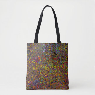 Multi-Colored Abstract Tote Bag