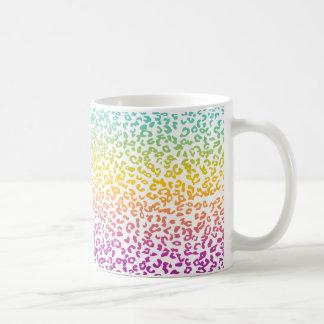 Multi colored Animal print Coffee Mug