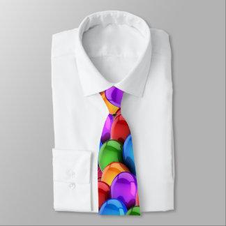 Multi-Colored Balloons Tie