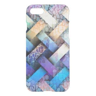 Multi Colored Basket Weave Design iPhone 7 Case