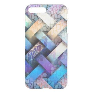 Multi Colored Basket Weave Design iPhone 7 Plus Case