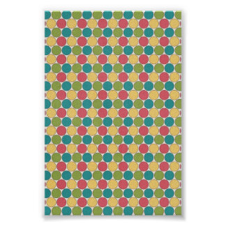 Multi colored Circles Posters