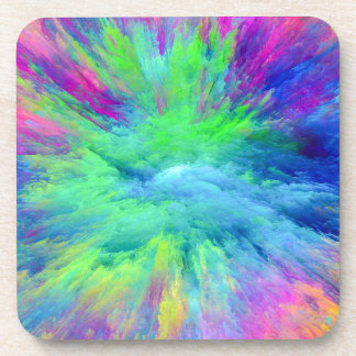 Multi Colored Coaster