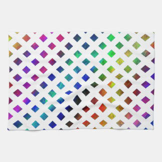 multi-colored Diamonds Kitchen Towel