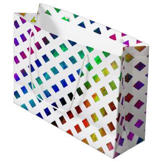 multi-colored Diamonds Large Gift Bag