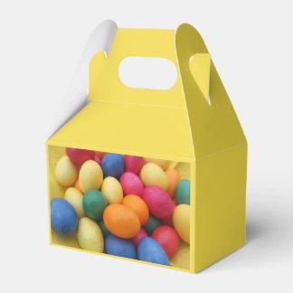 Multi colored Easter Eggs Festive Favor Box