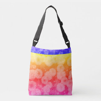 Multi-colored Floral Design Bag