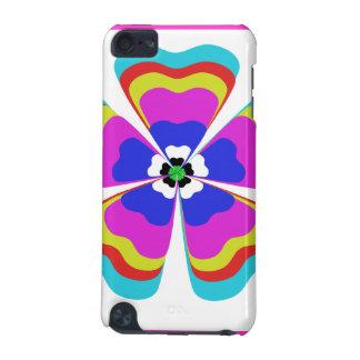Multi-colored Floral Retro Ipod Touch Case