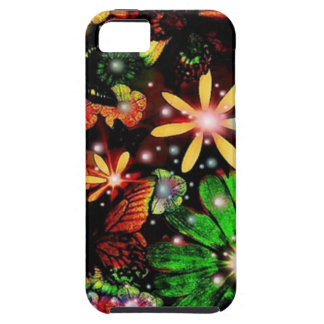 Multi Colored Flowers iPhone 5 Case