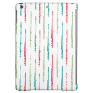 Multi Colored Flutes Cover For iPad Air