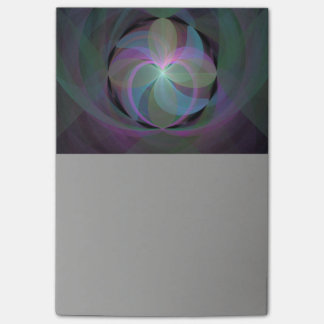 Multi Colored Fractal Fan Post-it Notes