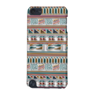 Multi Colored Gems Geometric Aztec Tribal Pattern iPod Touch (5th Generation) Covers