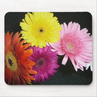 Multi colored gerbers mouse pad