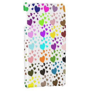 Multi Colored Hearts iPad Mini Case