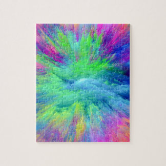 Multi Colored Jigsaw Puzzle