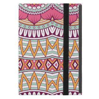 Multi-Colored Mandala Bohemian Pattern Cover For iPad Mini