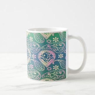 Multi Colored Paisley Coffee Mug