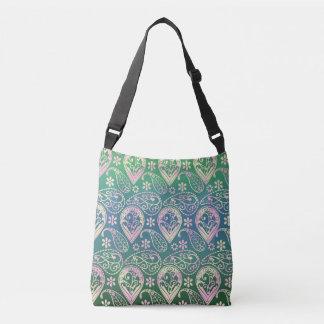 Multi Colored Paisley Crossbody Bag
