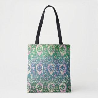 Multi Colored Paisley Tote Bag