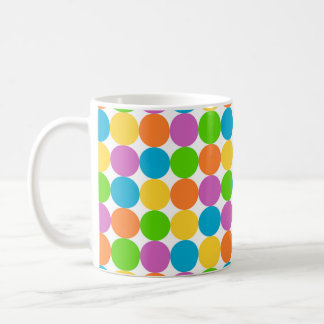 Multi-Colored Polka Dot Classic Mug