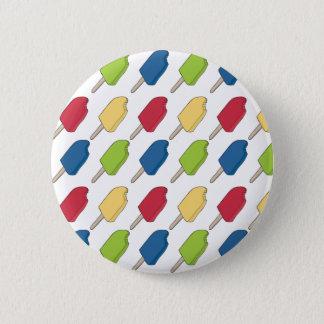 Multi-colored Popsicle Pattern Button