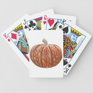 Multi Colored Pumpkin Bicycle Playing Cards