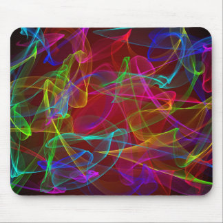 Multi-Colored smoke Mouse Pad