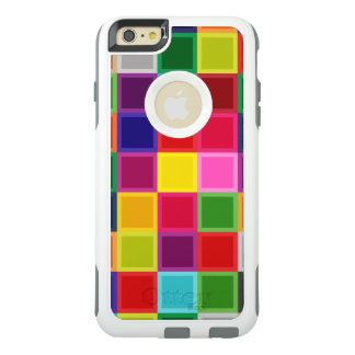 Multi Colored Squares Girly OtterBox iPhone 6/6s Plus Case