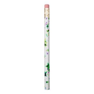 Multi Colored Stars Pencil