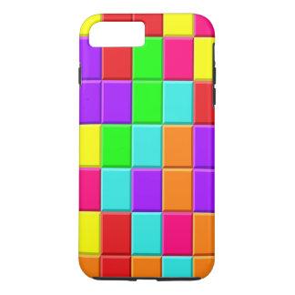 Multi-colored Taquin Tiles iPhone 7 Plus Case