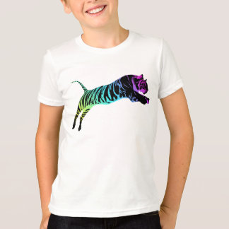 Multi-Colored Tiger T-Shirt
