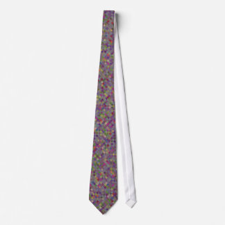 Multi Colored Tiled Pattern Tie