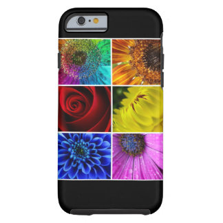 Multi Colorful Floral Botanical Flowers Tough iPhone 6 Case