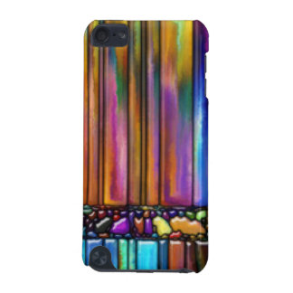 Multi Colorful Stripes Pattern Print Pattern iPod Touch 5G Cover
