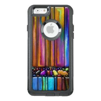 Multi Colorful Stripes Pattern Print Pattern OtterBox iPhone 6/6s Case