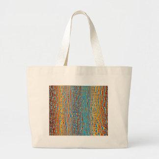 Multi Colour Background Large Tote Bag