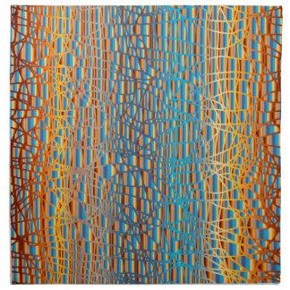 Multi Colour Background Napkin