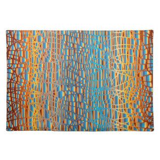 Multi Colour Background Placemat