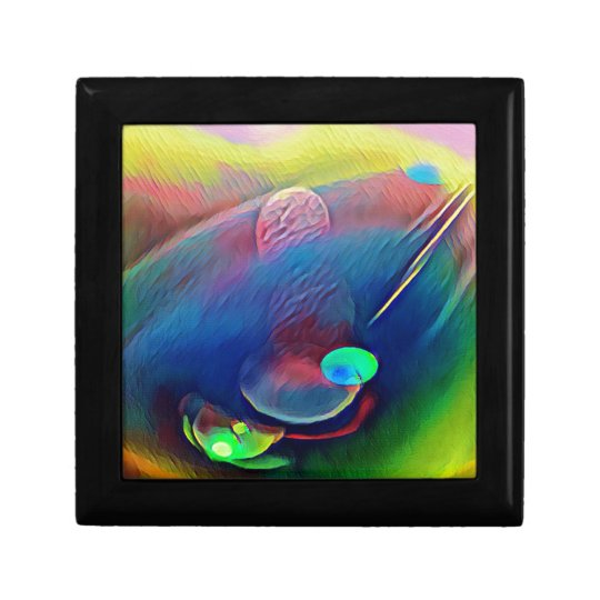 Multi+Colour Universe Abstract Alien Worlds Gift Box