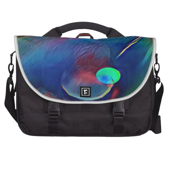 Multi+Colour Universe Abstract Alien Worlds Laptop Shoulder Bag
