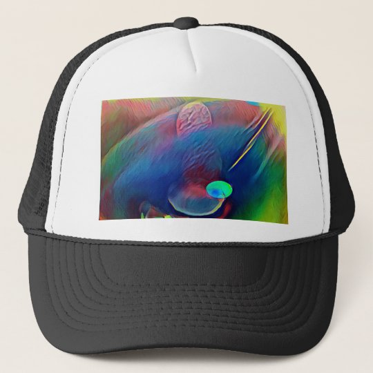 Multi+Colour Universe Abstract Alien Worlds Trucker Hat