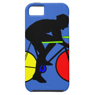 Multi coloured bicycle bike t-shirt iPhone 5 covers
