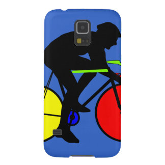 Multi coloured bike samsung phone cover galaxy s5 cover