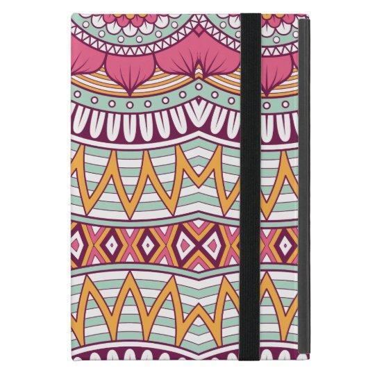 Multi-Coloured Mandala Bohemian Pattern Cover For iPad Mini