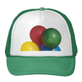 Multi Coloured Party Balloons Trucker Hat