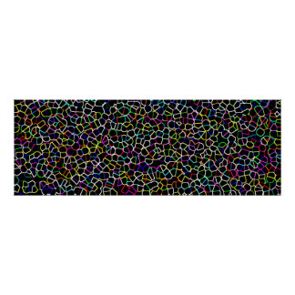Multi-Coloured Pattern 3 Print